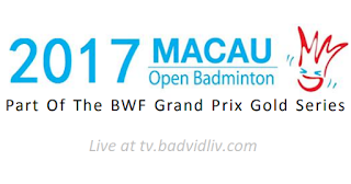 Macau Open 2017 live streaming and videos