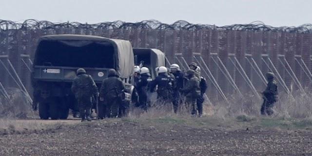 Έβρος: Θωρακισμένα στρατιωτικά οχήματα και άμεση επέκταση φράχτη με ΠΝΠ