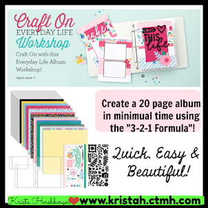Craft On - Everyday Life - mini album workshop kit