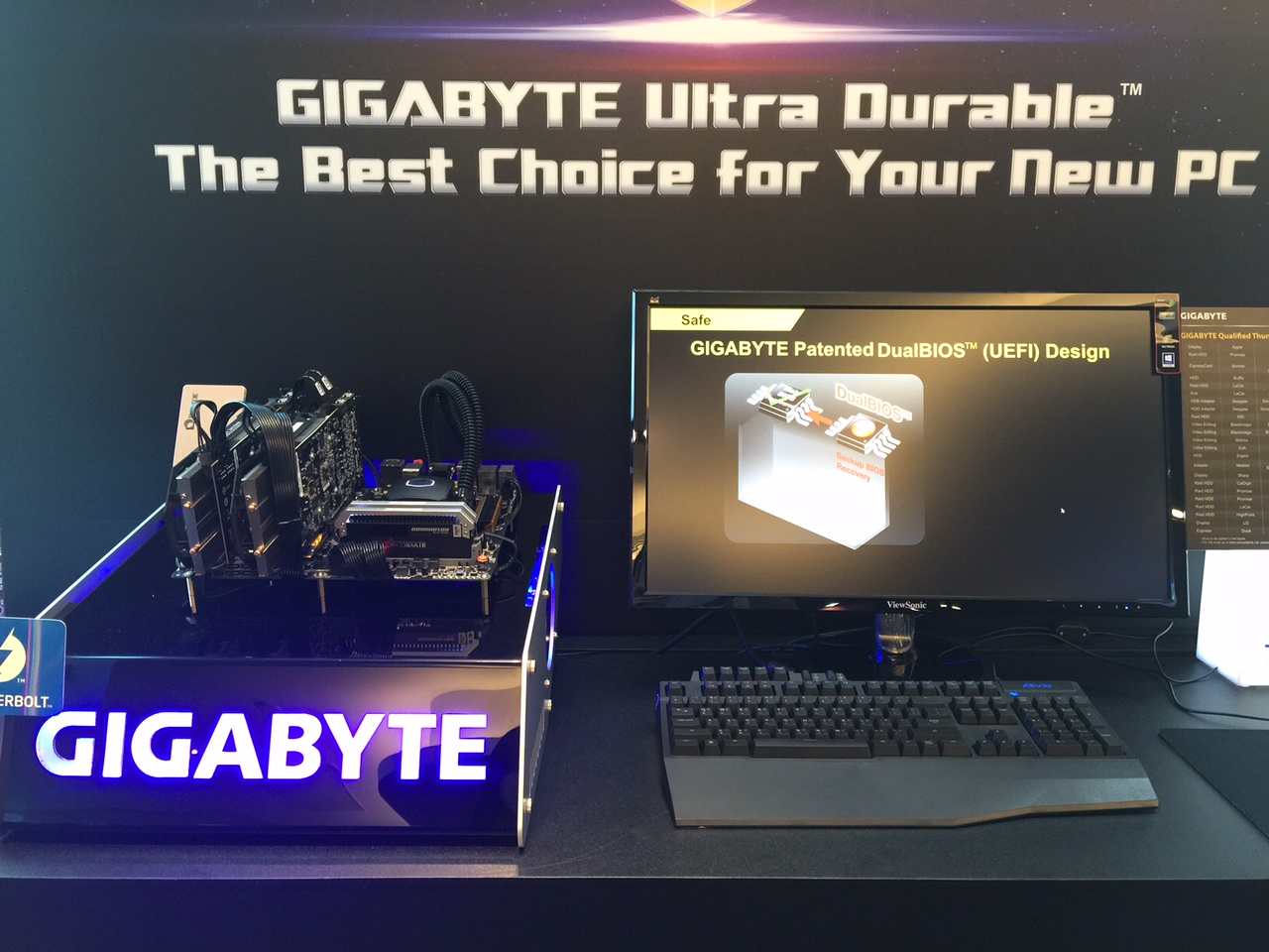 ViewSonic and Gigabyte