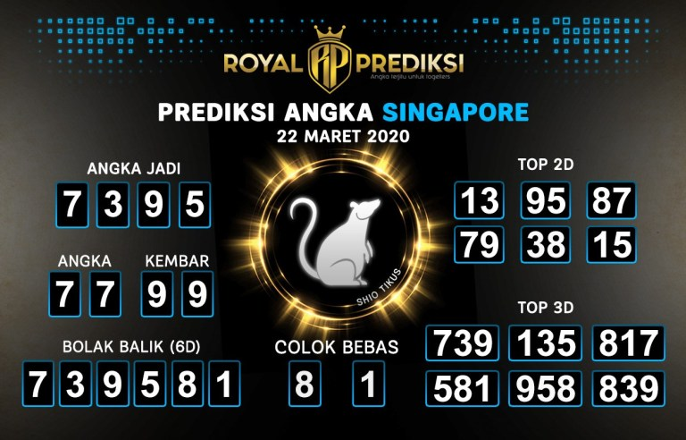 royal prediksi angka singapura