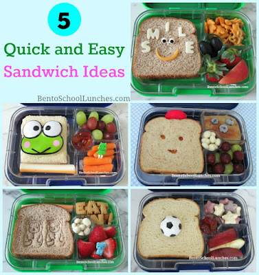 5 Quick and Easy Sandwich Ideas
