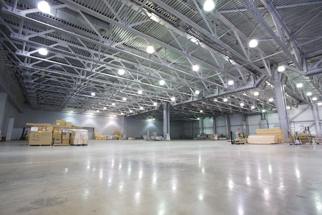Warehouse lighting doesn't have to come at an expensive cost.