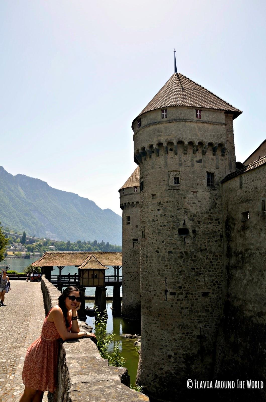 Alrededor del castillo de Chillon, Suiza
