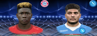 PES 2016 David Alaba & Lorenzo Insigne by Jonathan facemaker
