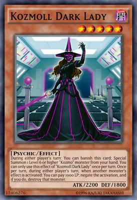 Kozmoll Dark Lady (Dama Obscura de Kozmoll)