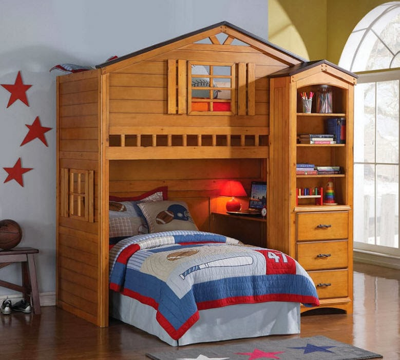 Bunk Beds For Kids Rooms Camp Fort Cody Loft Bed