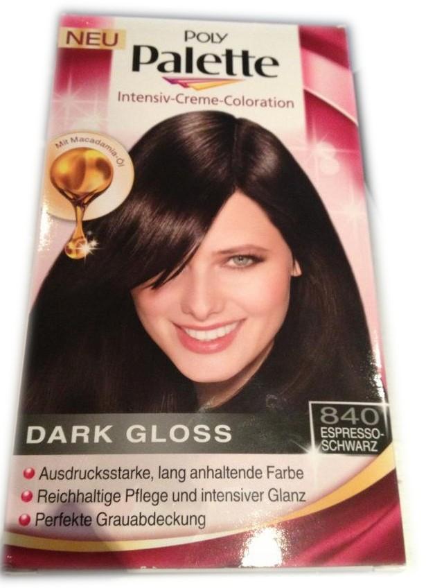 Schwarze haarfarbe dm