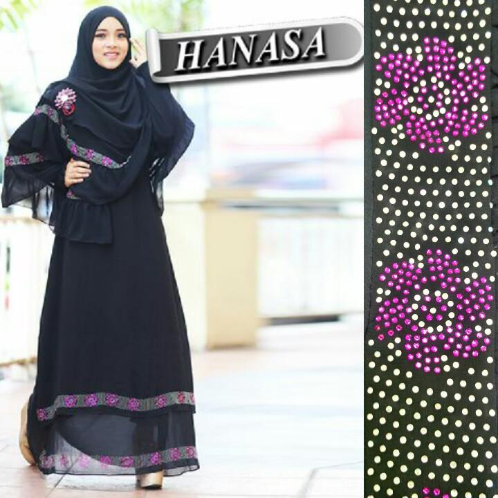Grosir Busana Muslim Hanasa 15 Grosir Jilbab Hanasa Gamis Syar I