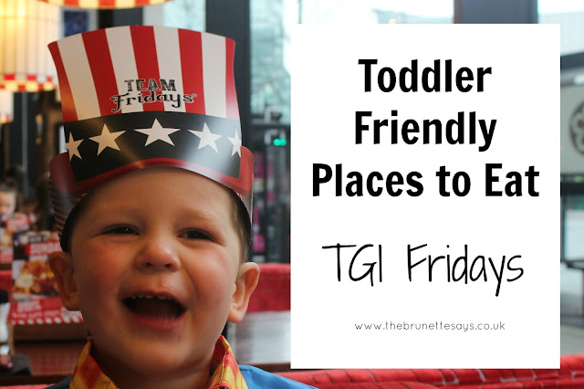 TGI Fridays, Highcross Leicester, family friendly