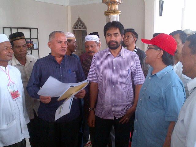 Pulang Kampung, Muzakir Manaf Tinjau Mesjid-Mesjid
