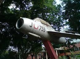 Pesawat Tempur Gedung Juang 45 Nganjuk Jaman Dahulu