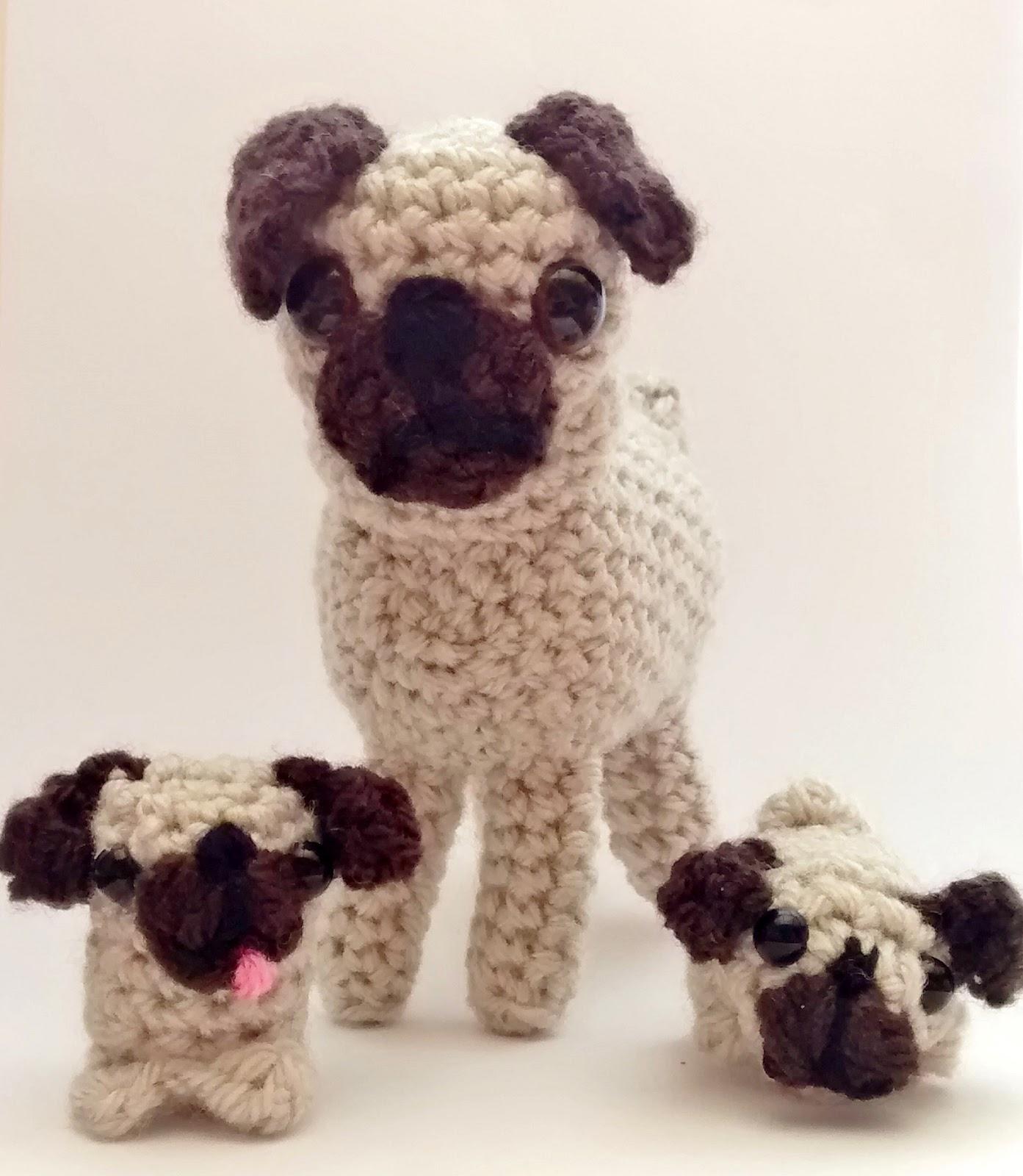 Crochet pug amigurumi by mohu | Project | Crochet / Amigurumi ... | 1600x1393