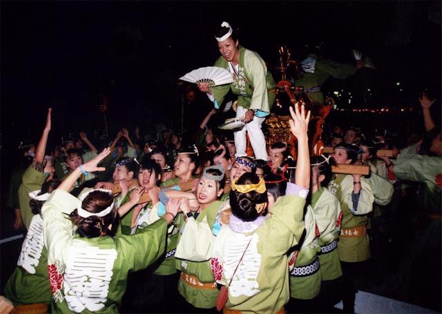 Autumn Festival, Motomiya City, Fukushima Pref.