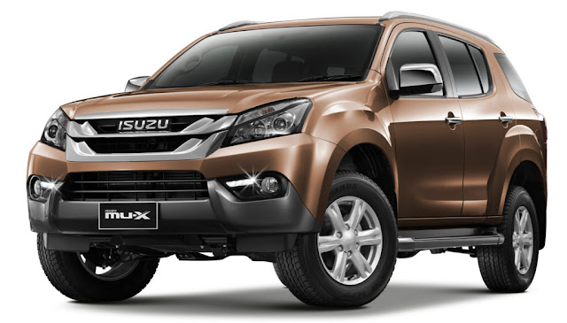 New 2018 Isuzu MU-X second gen SUV