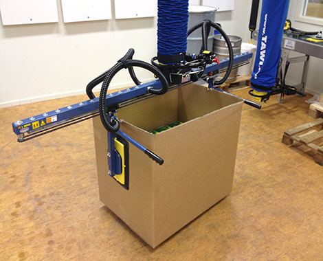 box lifter for open boxes
