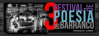 Festival de Poesía de Barranco, Poesía Barranco,
