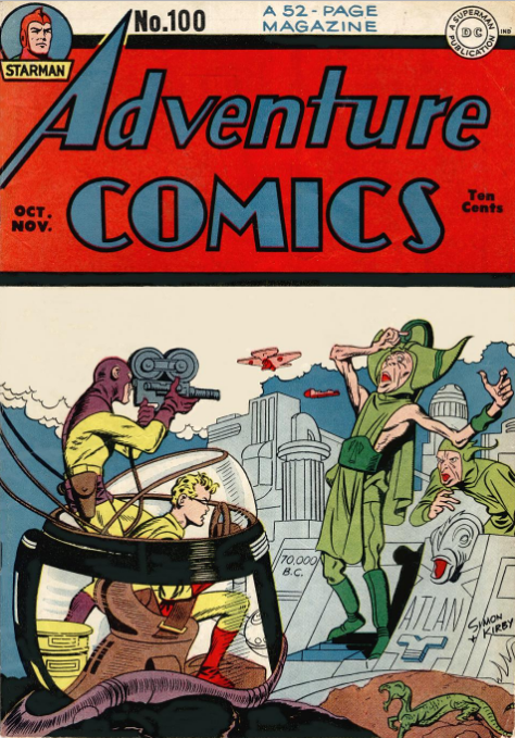 Adventure Comics 100 Kirby