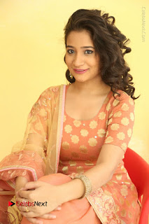 Telugu Actress Santoshi Sharma Latest Stills in Salwar Kameez at HBD Movie Teaser Launch  0111.JPG