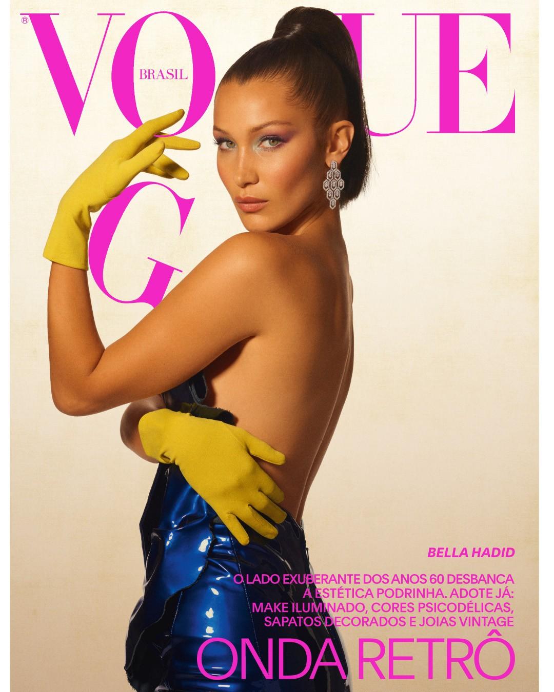 9503fb2bc63725 Vogue s Covers  Bella Hadid