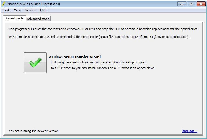wintoflash free for windows 8.1