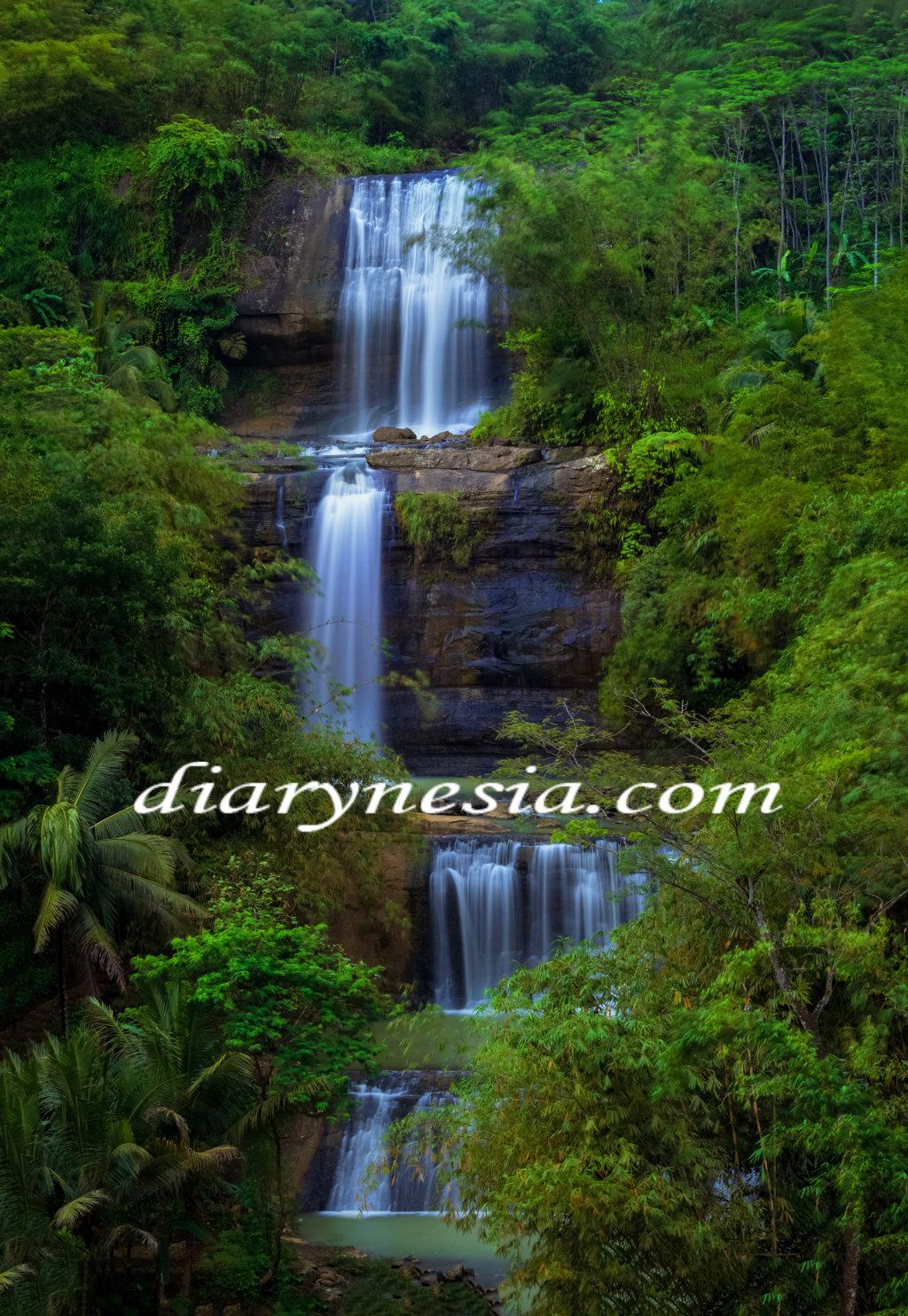 curug nangga tourism, banyumas tourism, central java tourism, diarynesia