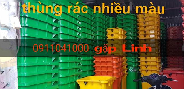 Thanh Hóa: Bán thùng rác nhựa HDPE 120L, 240L,.. chính hãng giá tốt