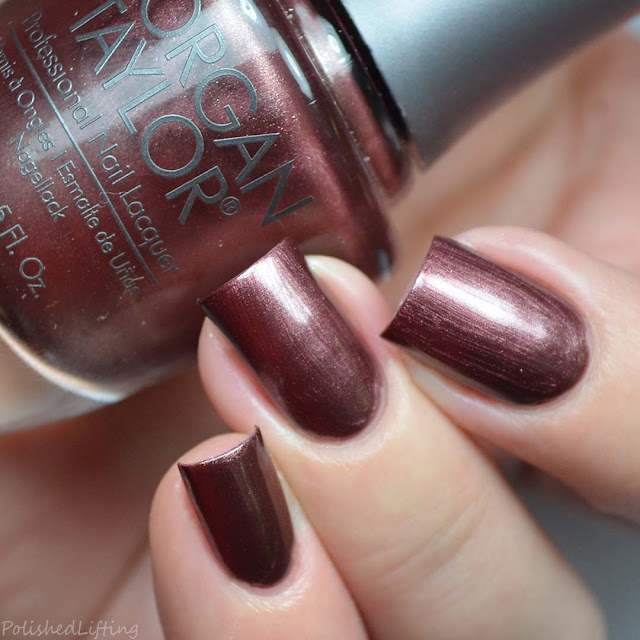 deep copper pearl nail polish