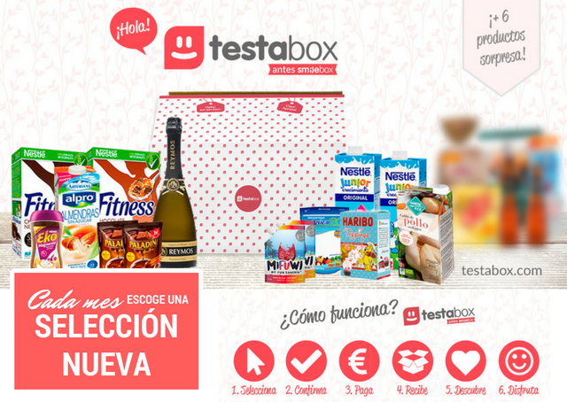 testabox seleccion