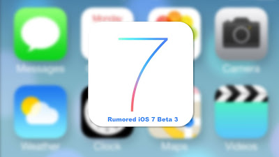 iOS 7 Beta 3 Download Rumored To Come On July 8