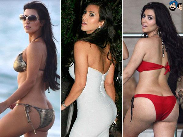 Is Kim Kardashian Butt Real 3