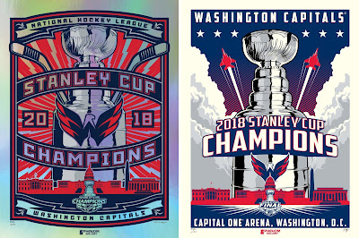 Washington Capitals 2018 Stanley Cup Champions Screen Prints by M. Fitz, Stolitron & Phenom Gallery