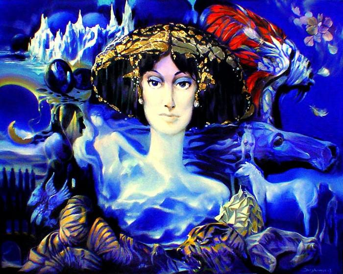 Символизм в живописи. W.A. Di Bolgherese 17