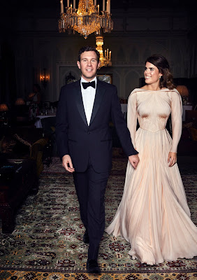 Dress in Official Princess Eugenie's Dazzling Reception Wedding Photos