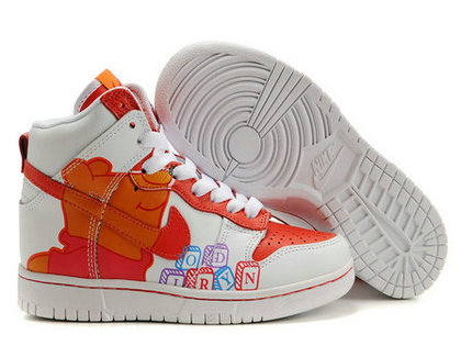 info for 12912 a0fe1 ... new style disney nike dunks winnie the pooh sneakers white orange d9377  d92c5