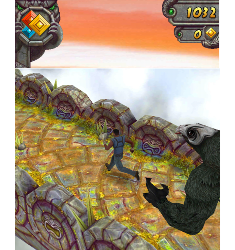 Popular touch screen smartphone game ''Temple Run'' to be replicated in a movie