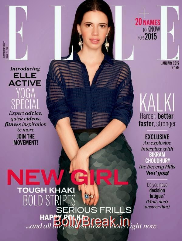 Kalki Koechlin, January Cover Girls Hot Pics