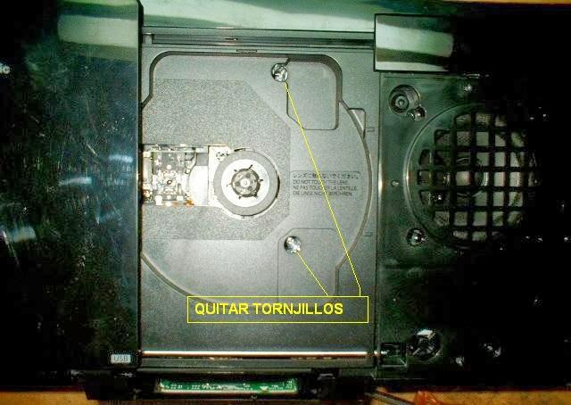 levantar protectores de altavoces del componente de audio panasonic sc-hc27 para quitar tornillos