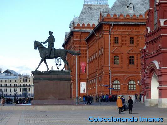 Entrada Plaza Roja de Moscú