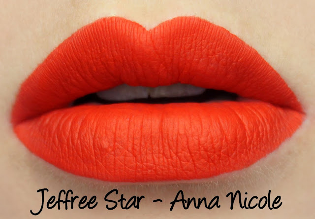 Jeffree Star Velour Liquid Lipstick - Anna Nicole Swatches & Review
