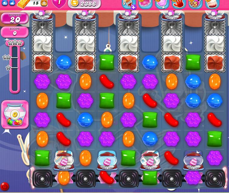 Candy Crush Saga level 2386