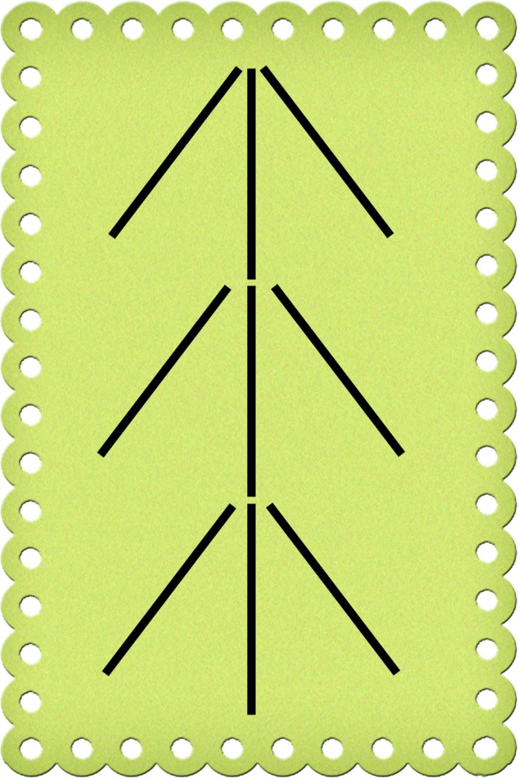 юля елочка из счетных палочек картинка блюдо