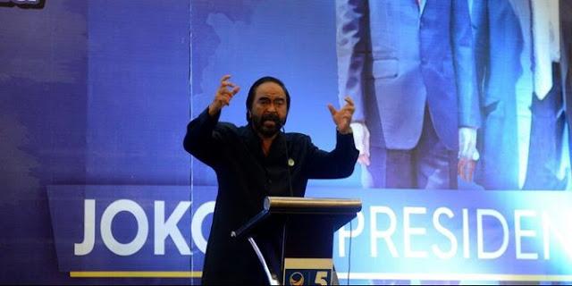 Jika NasDem tak Raih 3 Besar di Pemilu 2019, Paloh Siap Disebut Pemimpin Gagal