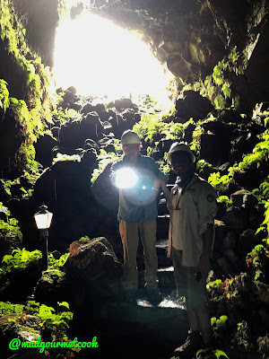 Inside the Lava Cave