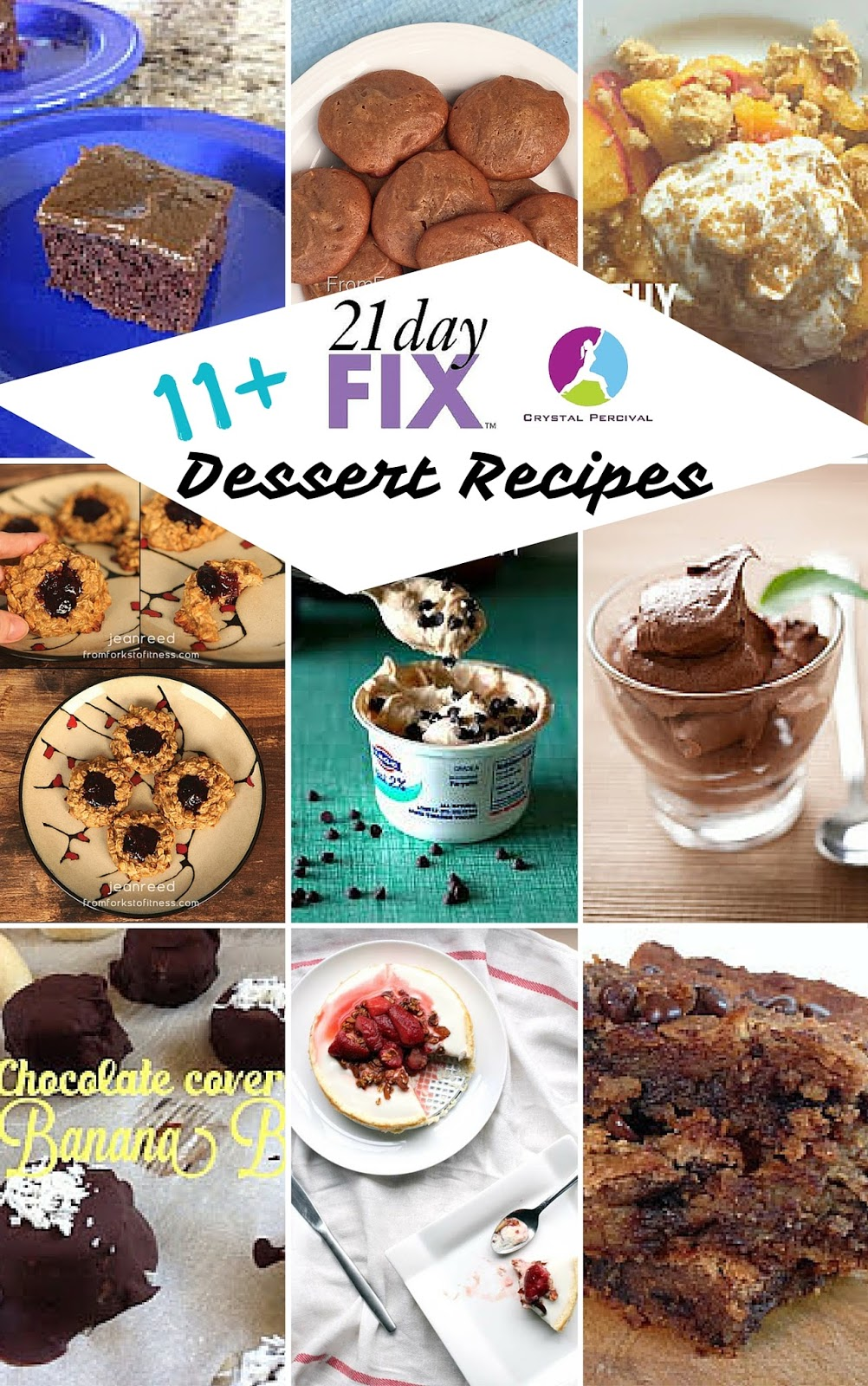 Crystal P Fitness And Food 21 Day Fix Recipes