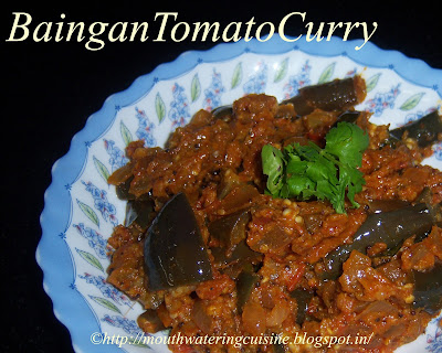 Baingan Tomato Curry