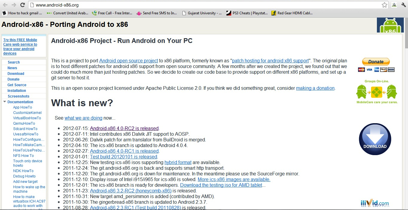 Blog-O-Sphere: Running Android 4 0 Ice Cream Sandwich on any