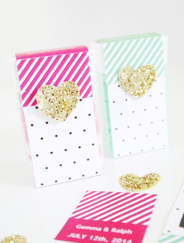Tic Tac® DIY Wedding Favor Idea with Free Printables - BirdsParty.com