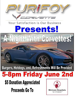 A Night With Corvettes at Purifoy Chevrolet near Denver