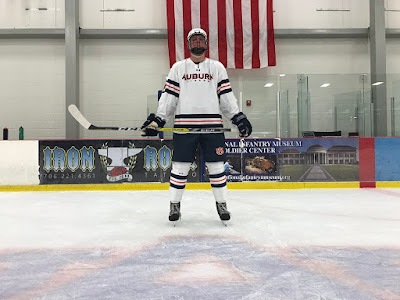 auburn hockey uniforms